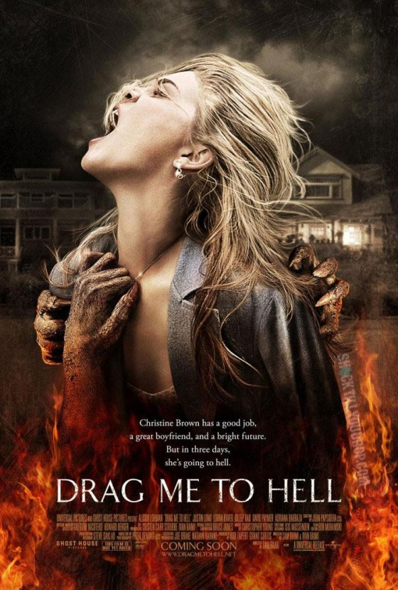 drag me to hell movie poster